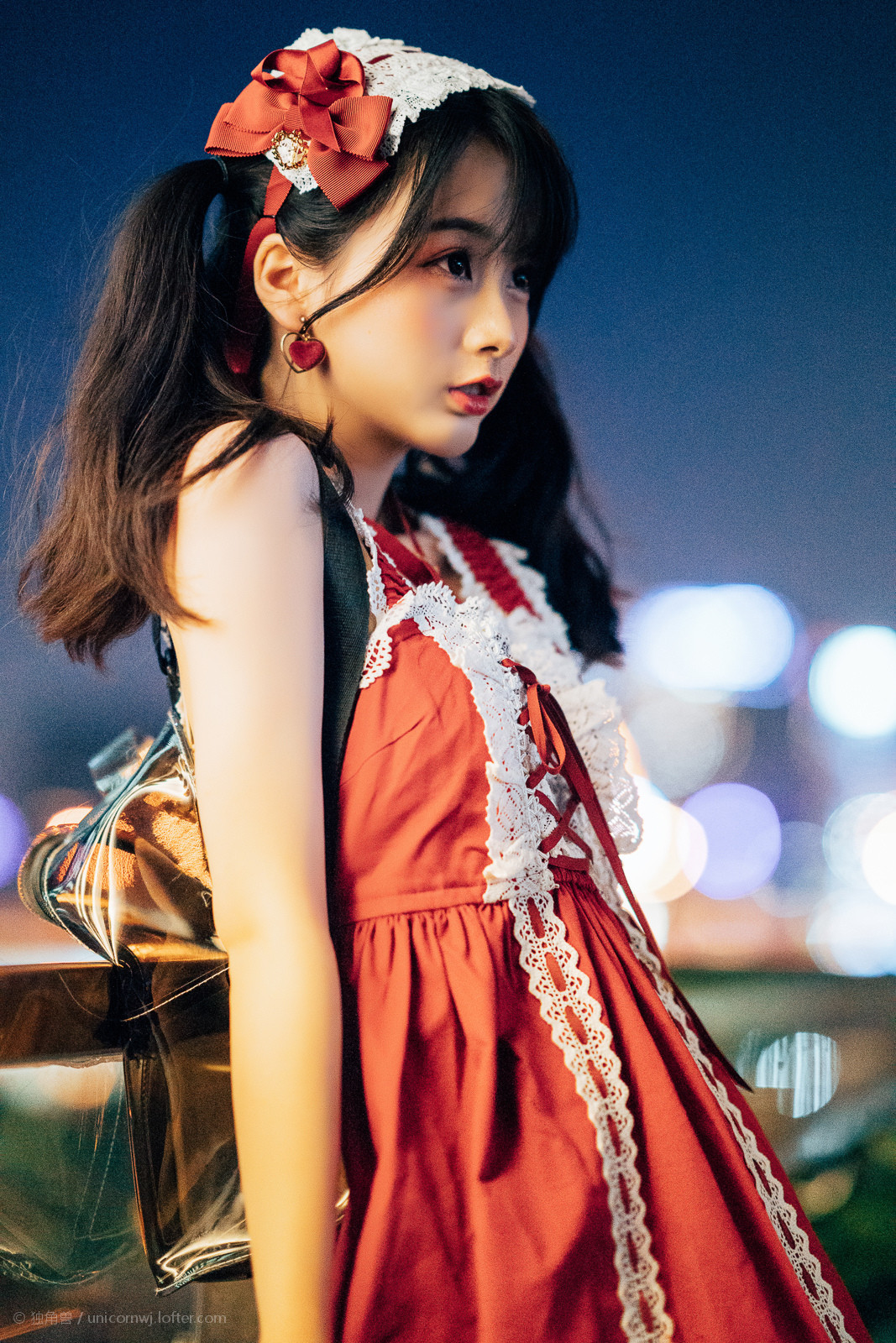 摄影独角兽:日系小清新高质量Lolita-有意思吧