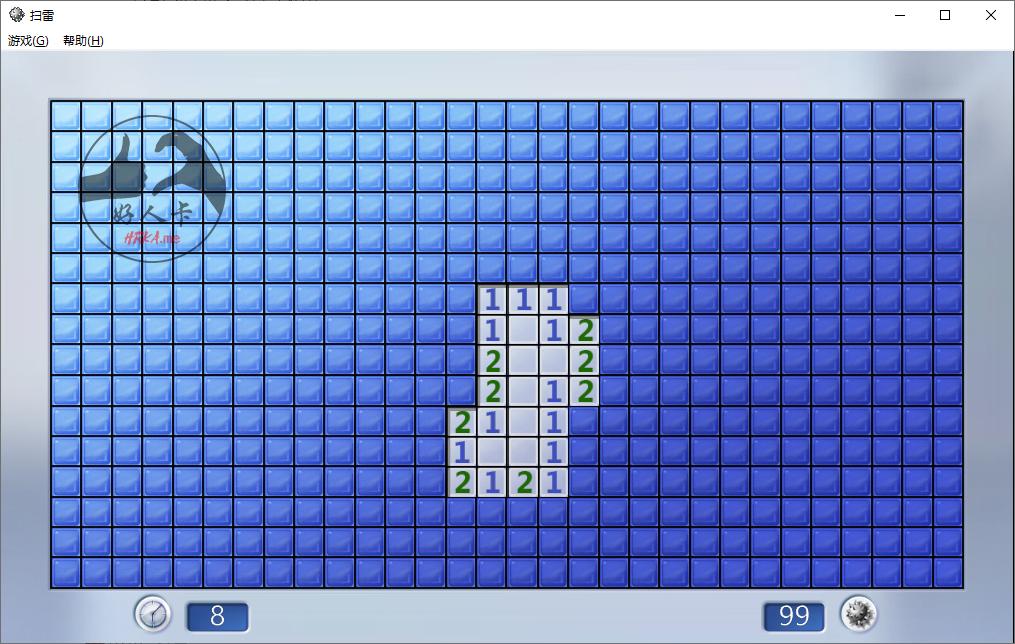 Windows 10可玩:Windows 7/XP 双版本扫雷 绿色版-好人卡