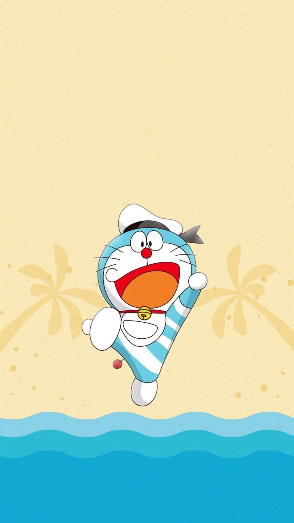 我愿一直在你身边_哆啦A梦壁纸:可爱哆啦A梦蓝胖子手机壁纸-角落博客