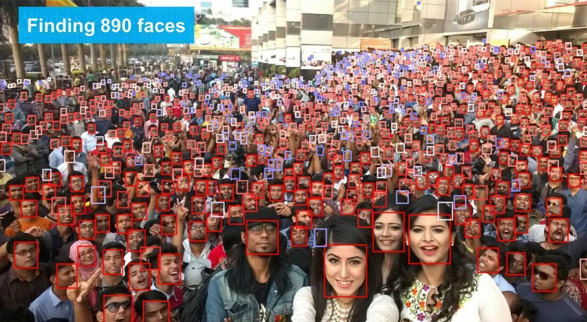 中星微AI刷新WIDER FACE人脸检测世界纪录