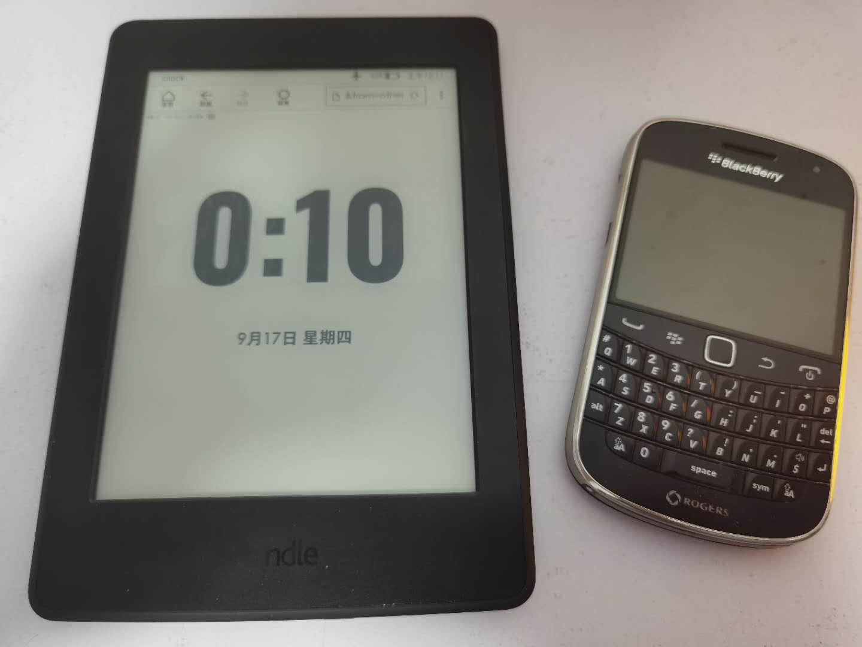 ◎ Kindle 桌面时钟