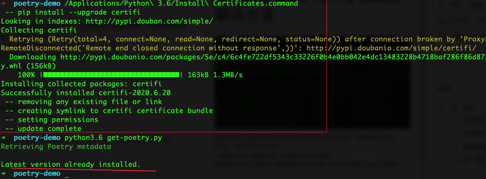 python3.6  [SSL: CERTIFICATE_VERIFY_FAILED] certificate verify failed 解决方法-Python 技术分享 Java技术分享 Python 爬虫技术_微信公众号:zeropython—昊天博客