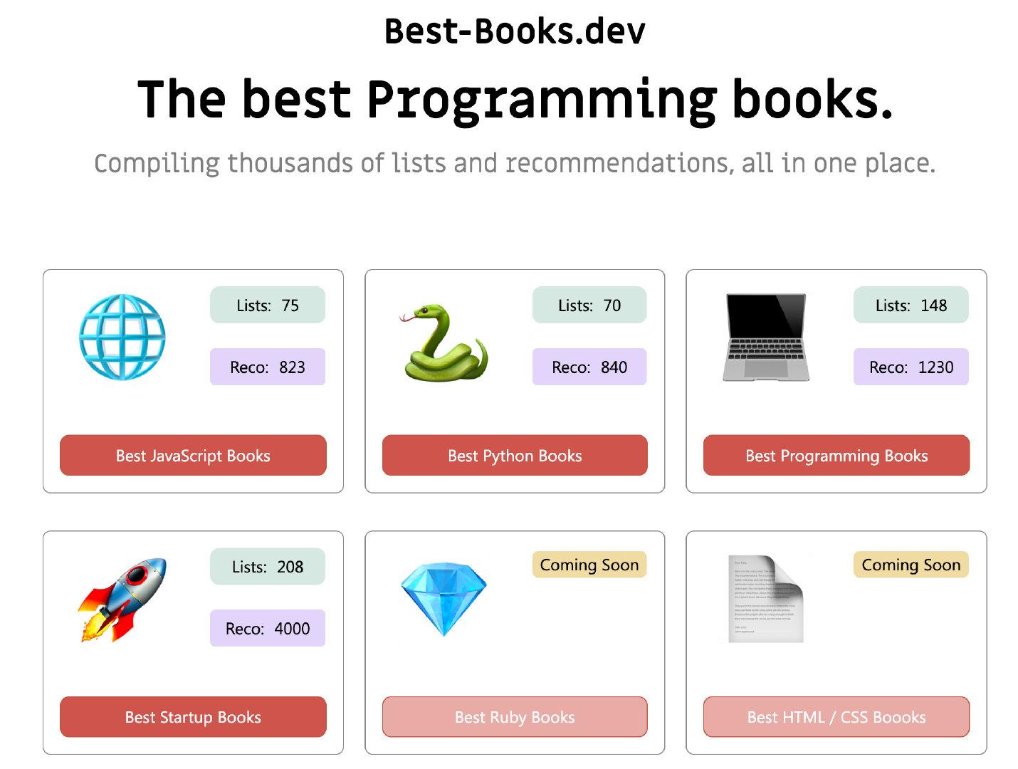 ◎ Best-Books.dev
