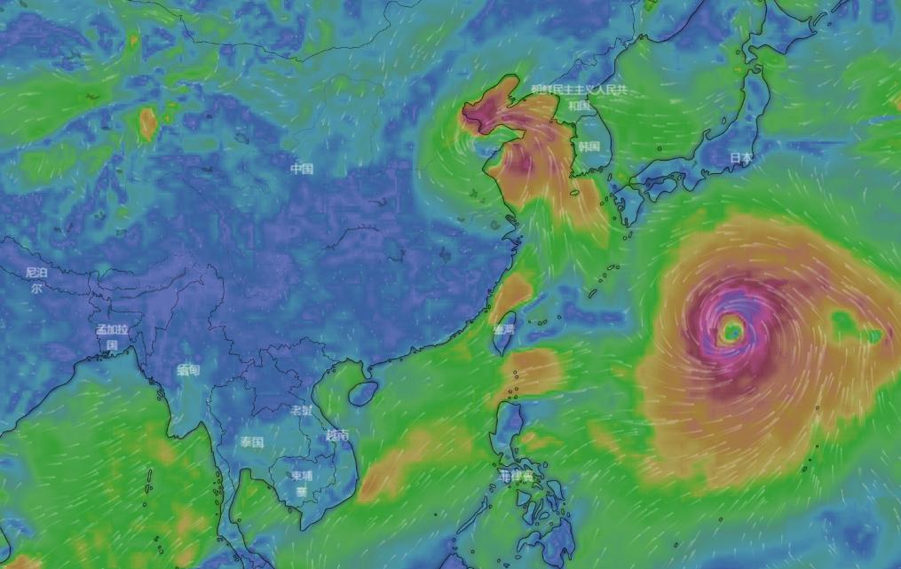 推荐:功能强大又美观的台风路径气象网站—Windy-福禄吧