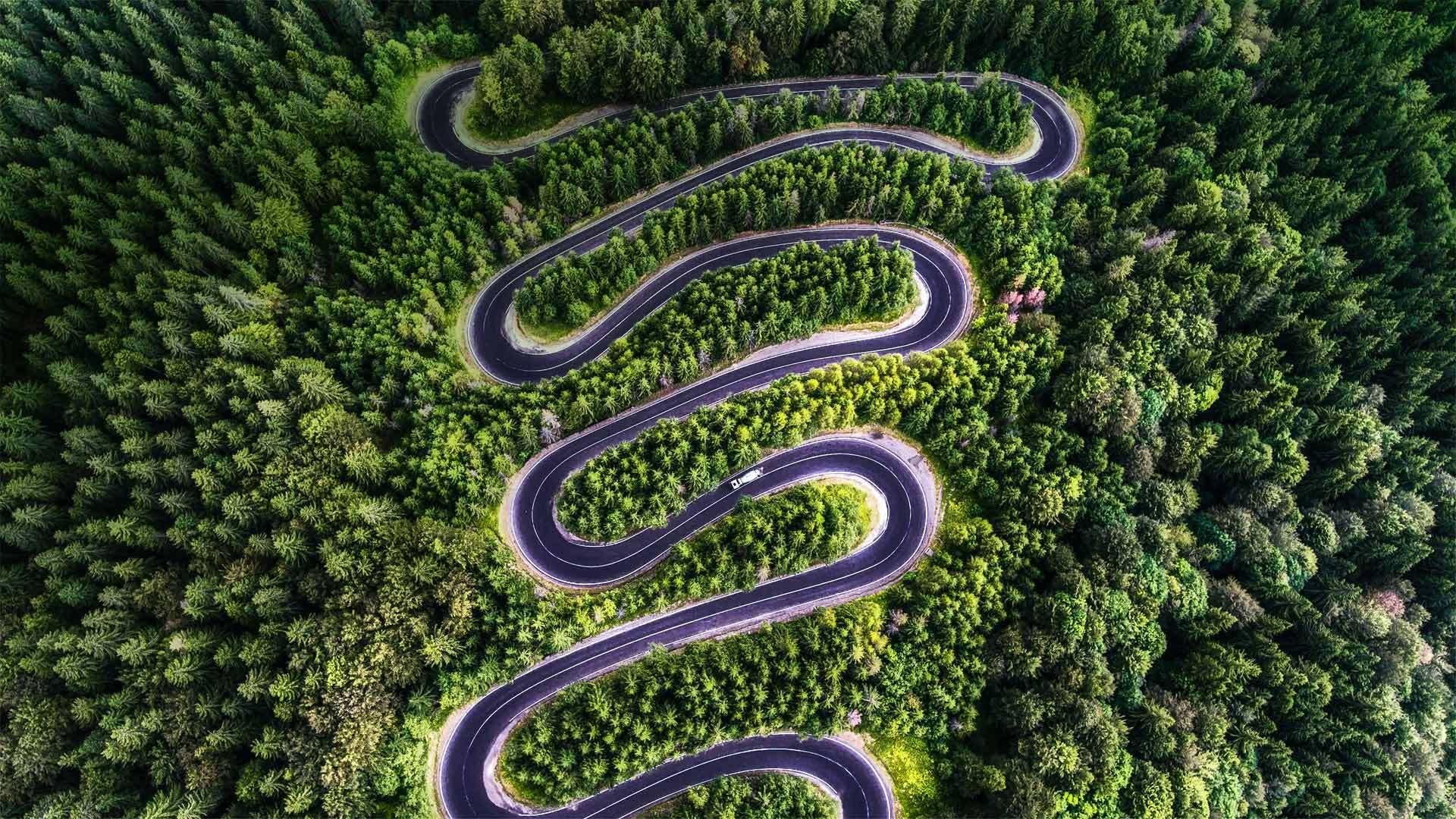 特兰西瓦尼亚的川斯发格拉山公路