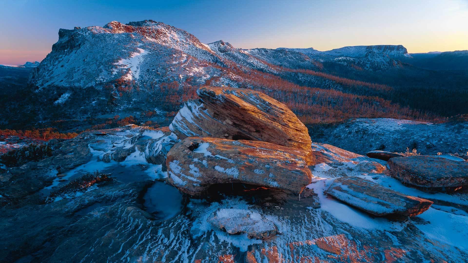 摇篮山-圣克莱尔湖国家公园