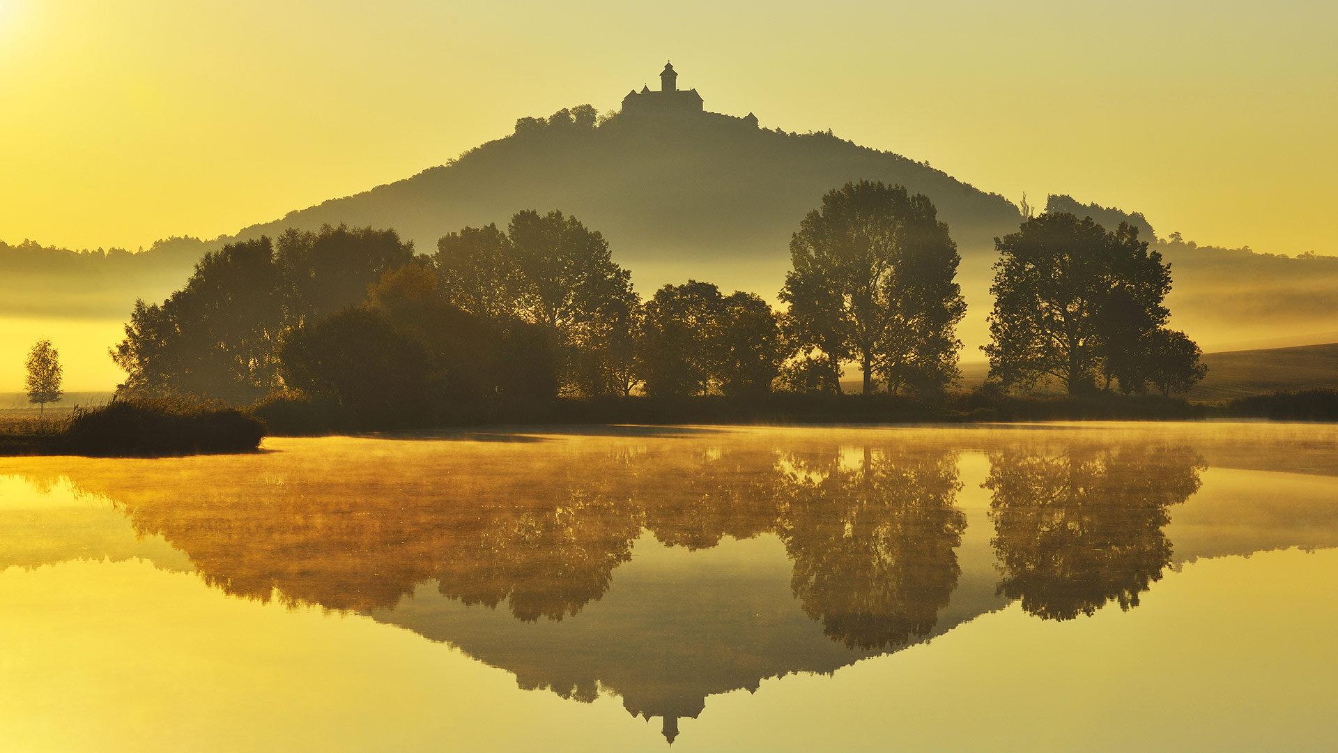 赖格莱兴的Wachsenburg城堡