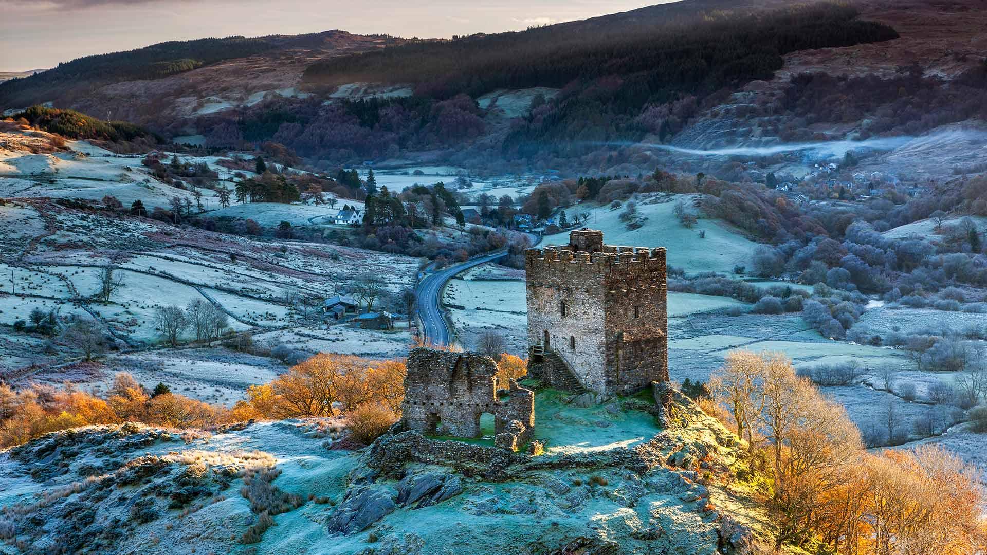 斯诺多尼亚国家公园多尔威泽兰城堡多尔威泽兰城堡