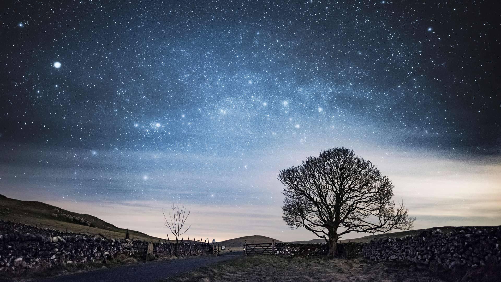 马勒姆的夜空夜空
