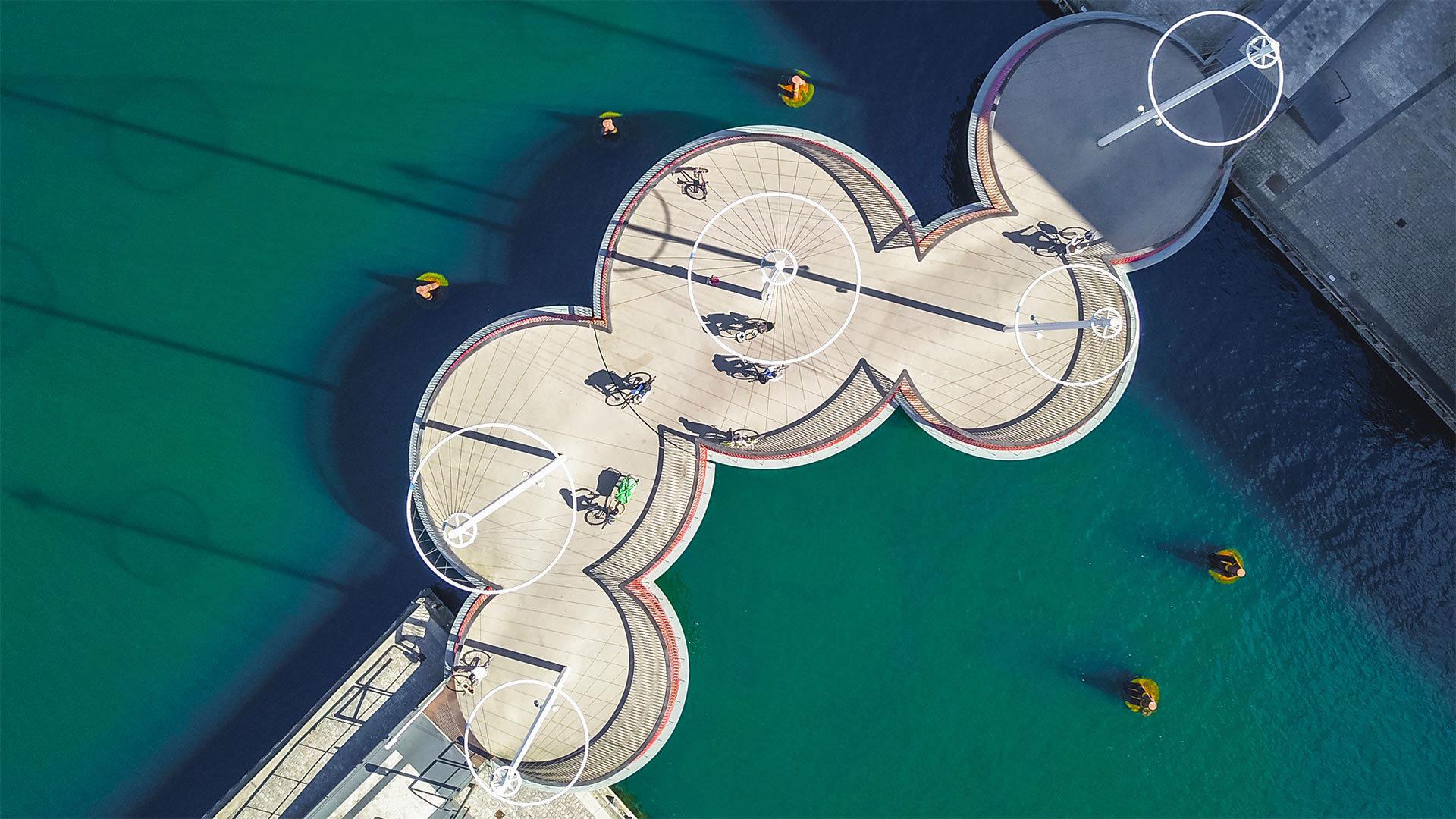 哥本哈根的环形桥环形桥