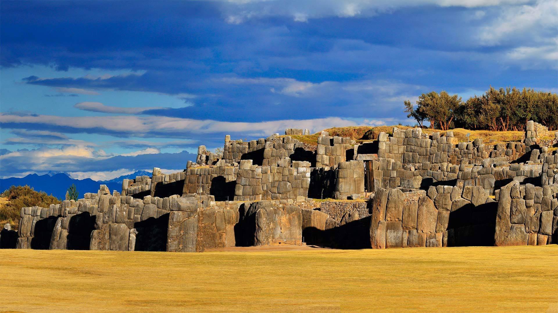 库斯科附近萨克塞华曼的印加要塞印加要塞
