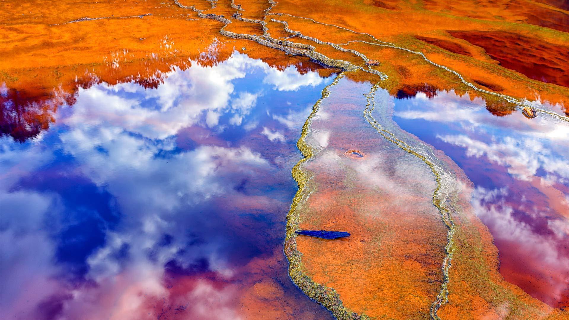 力拓河中含矿物质的水力拓河