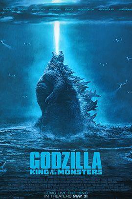 哥斯拉2:怪兽之王的海报