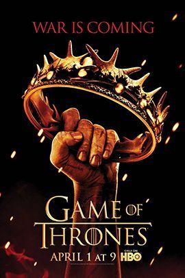 权力的游戏  第二季的海报