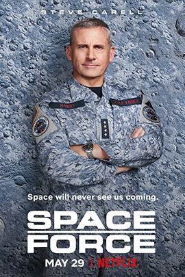 太空部队的海报