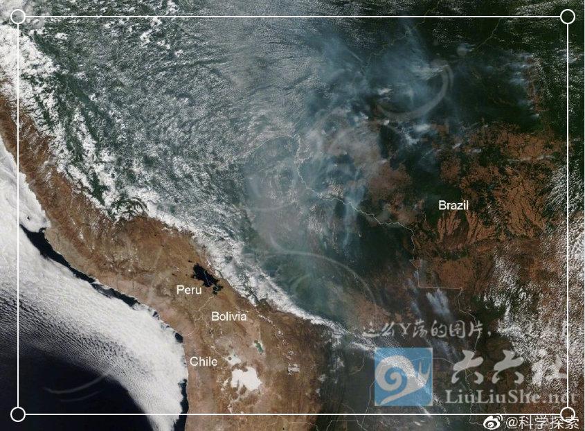 为什么任由大火烧了亚马逊雨林23天,却没人救火和报道? liuliushe.net六六社 第13张