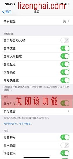 iPhone X/XR/XS如何取消让输入法贴到显示屏下方,去掉下面那个话筒图标?我有解决办法。