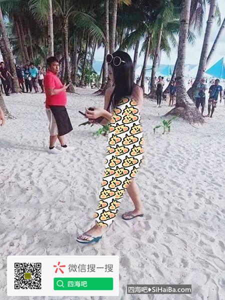 台湾女游客在菲律宾长滩岛游玩被罚款,警方称:比基尼就是根绳子 热门事件 第1张