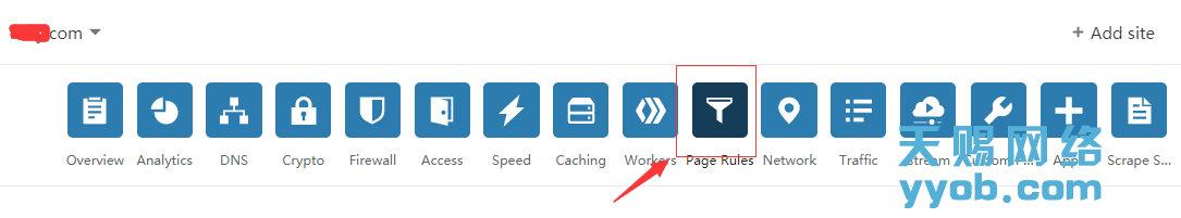 苹果maccms使用免费Cloudflare CDN加速自定义缓存规则的设置方法