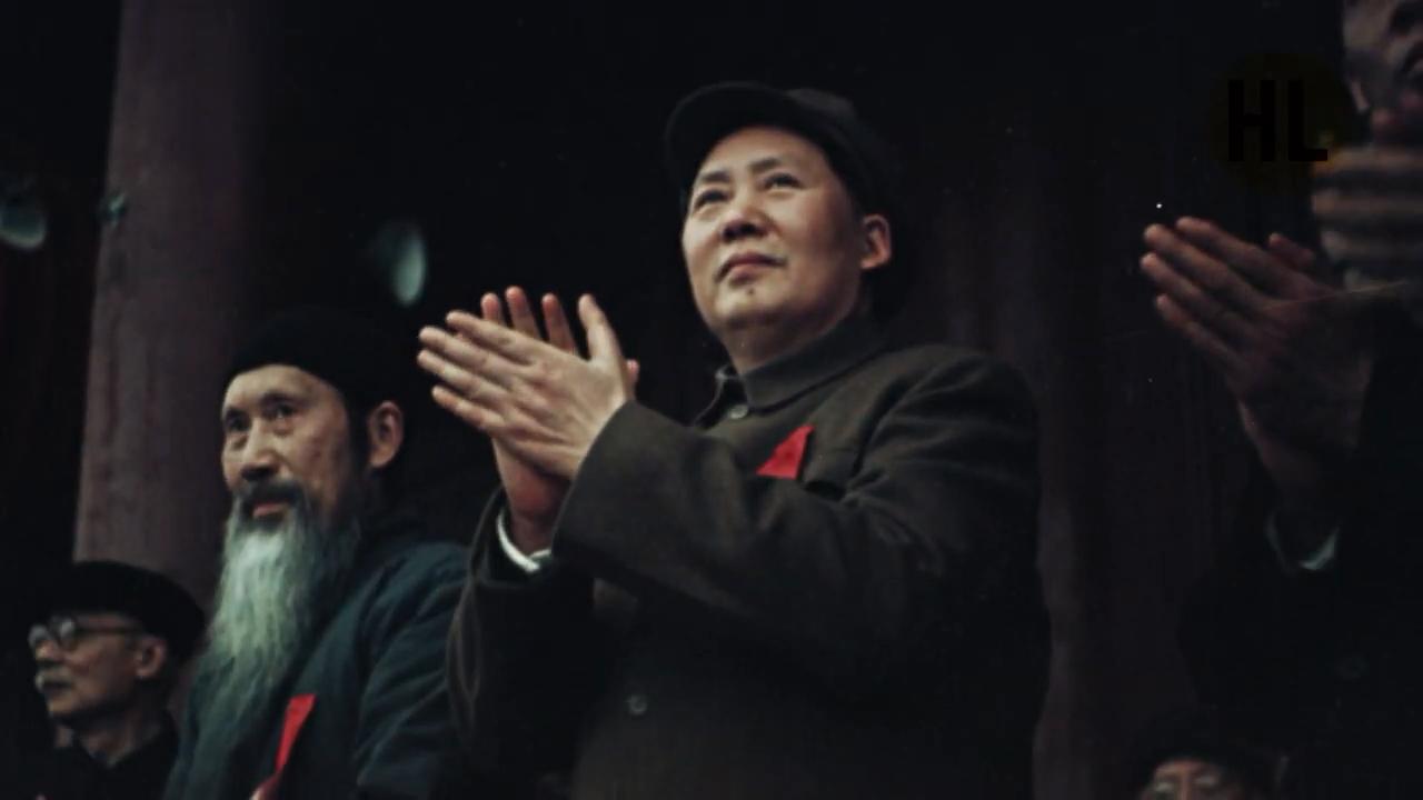 俄国纪录片《中国的重生》,记录珍贵彩色高清开国大典画面-福禄吧