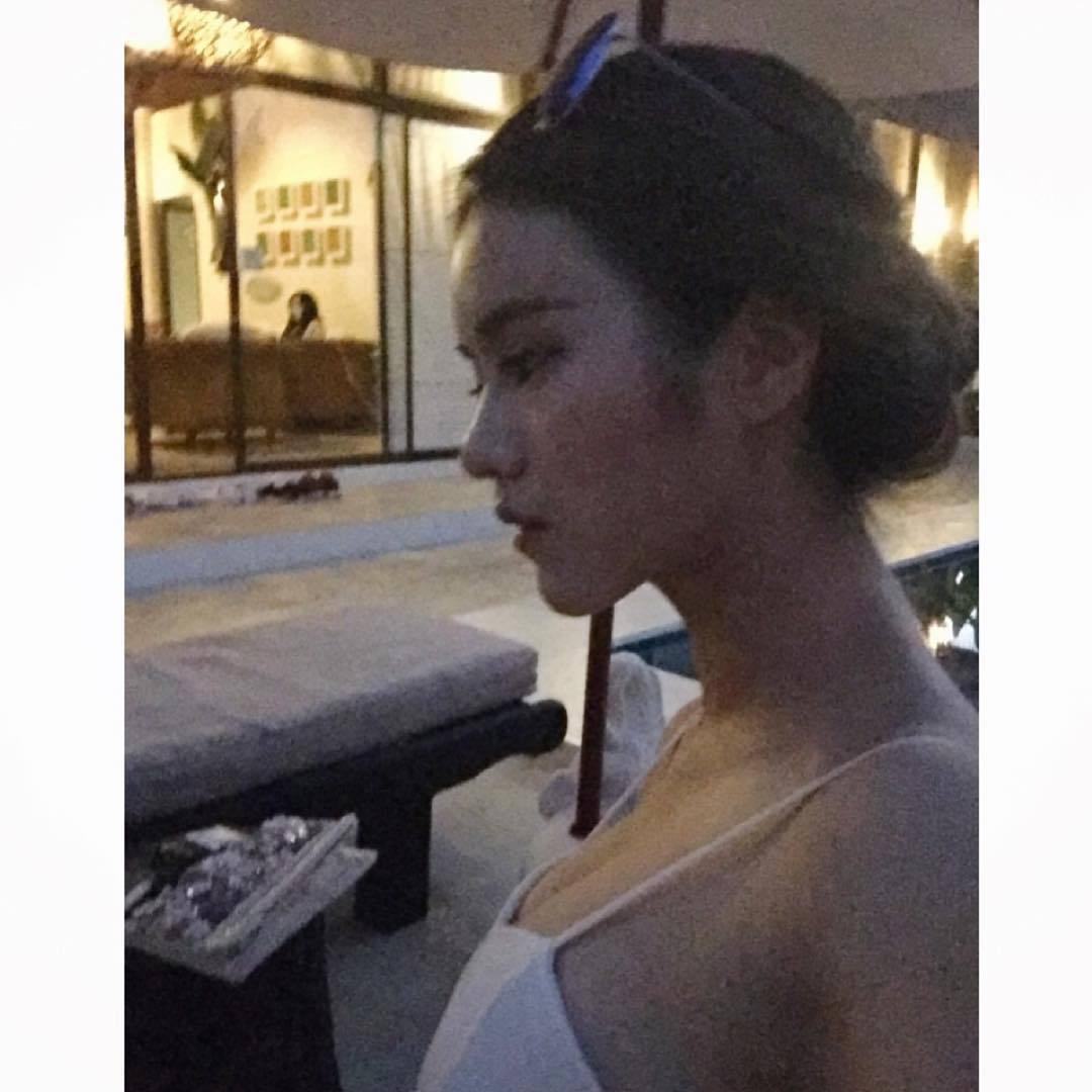 欲露还羞的拳王泰国餐厅点餐员(铜锣湾F级爆衫女侍应Larine) liuliushe.net六六社 第9张