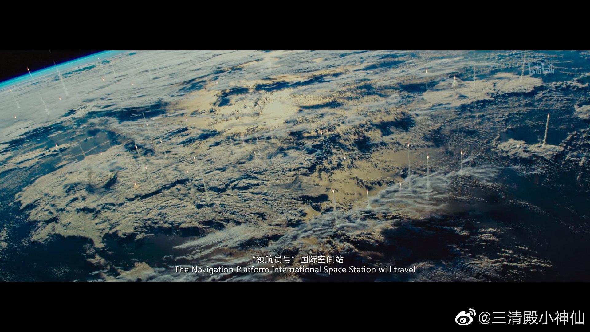 影视资讯又看了遍流浪地球不同语言的3...