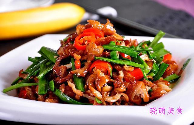 芹菜炒牛肉、葱爆肉、香干炒肉、椒盐皮皮虾的简单做法,咸香好吃