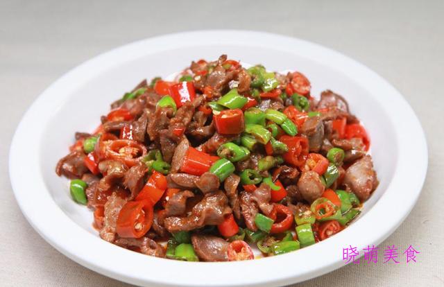 炒腊肉、爆炒猪肝、辣炒鸡胗、豉香土豆片、椒盐虾的做法