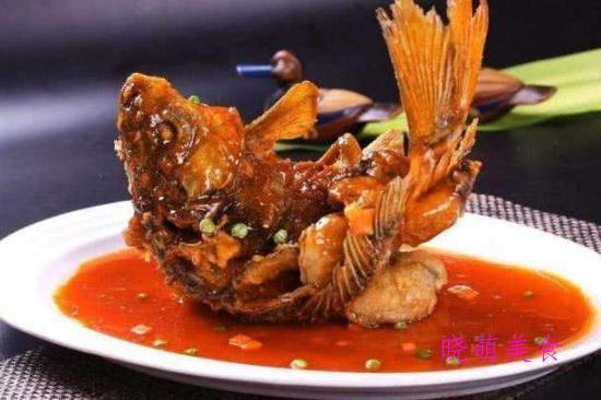 炒鱿鱼、糖醋鲤鱼、口水鸡、红烧猪蹄的简单做法