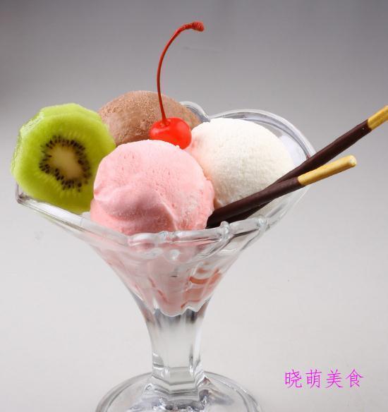 慕斯蛋糕、冰淇淋、冰沙、抹茶冰淇淋、冰粉的做法