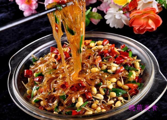宫保鸡丁、泡椒牛肉、粉蒸肉、韭菜炒粉条的家常做法,简单易学