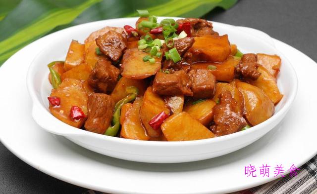 土豆烧牛肉、红烧鲫鱼、红烧鸡翅、羊肉烧白萝卜的简单做法,超下饭