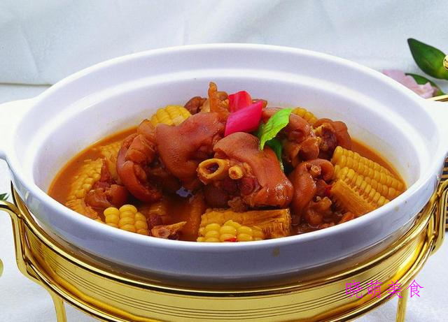 红烧猪蹄、烤猪蹄、黄豆炖猪蹄、酱焖猪蹄段做法,满满的胶原蛋白