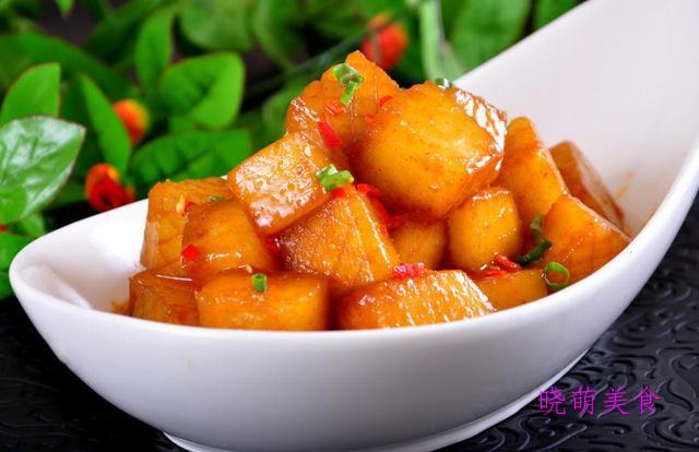 红烧冬瓜、红烧冬瓜、红烧豆腐、红烧萝卜、红烧素鸡的做法好好吃