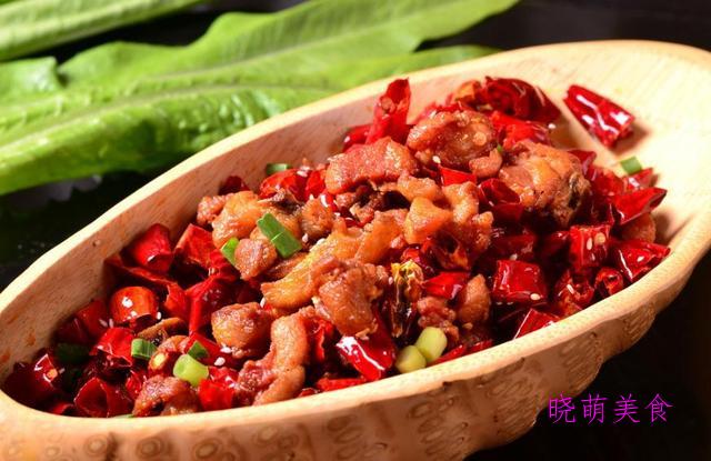 辣子鸡、烤羊排、红烧带鱼、青椒酿肉、小炒鸡的做法,香辣下饭