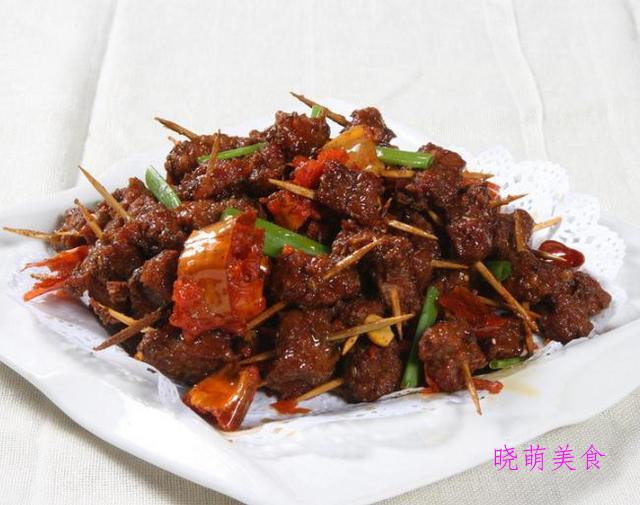 鸡柳、奥尔良烤翅、豉汁蒸凤爪、牙签牛肉的做法,鲜香美味