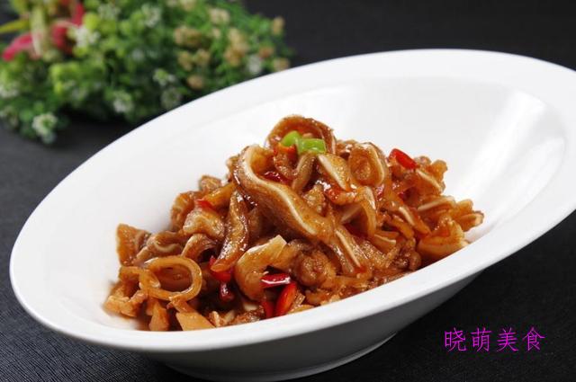 爆炒猪耳、泡椒炒鸡胗、爆炒腰花、香酥排骨的详细做法,下饭真香