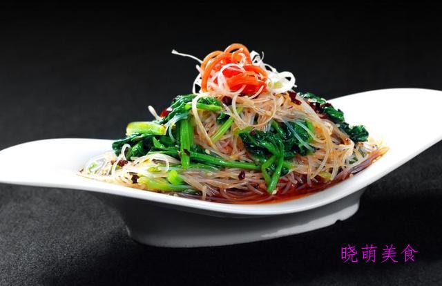香椿拌豆腐、粉丝拌菠菜、葱油腐竹、凉拌金针菇、凉拌土豆片的做法