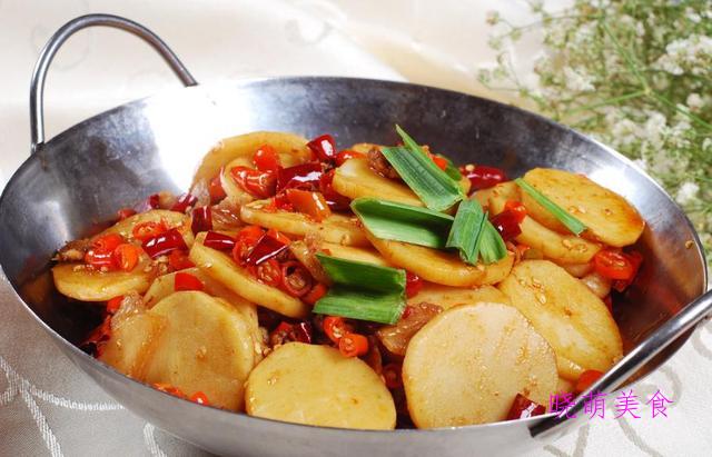 软糯鲜香的土豆美食来了,香辣好吃又下饭