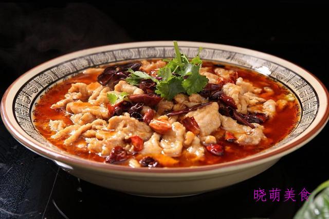 水煮鱼、麻辣水煮肉片的家常做法,色香味美超下饭