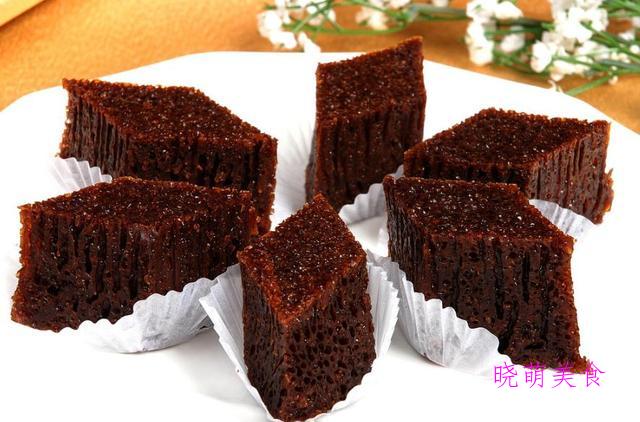 自制桃酥、法式鸡蛋糕、桂花米糕、紫薯松糕、黑米糕的做法好松软