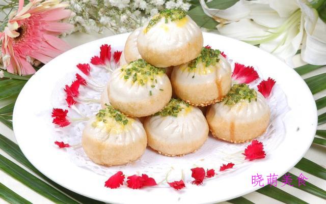 虾饺、葡式蛋挞、酸奶蛋糕、酸奶蛋糕、冰皮月饼、煎包的做法