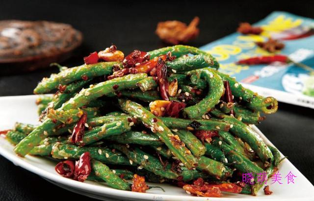 鱼香茄子、炒肉丝、酸辣土豆丝、辣炒豆角的经典做法,美味下饭