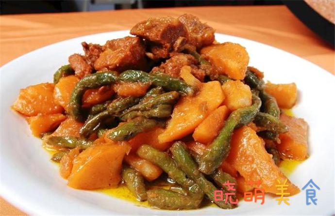烧蹄髈、卤汁排骨、烧狮子头、土豆烧豆角的做法,美味营养好好吃