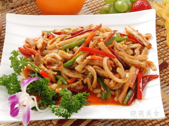 青椒炒牛肚、毛血旺、牛杂煲的经典做法,香辣美味又下饭
