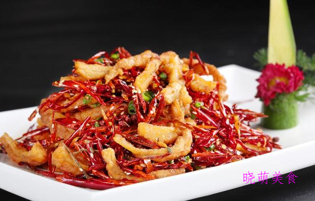 干煸肥肠、红焖羊肉、清炒虾仁、韭菜炒香干的做法,香辣美味