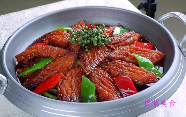 干锅带鱼、萝卜烧肉、五香鸭胗、糖醋鱼片的做法,鲜香美味好好吃