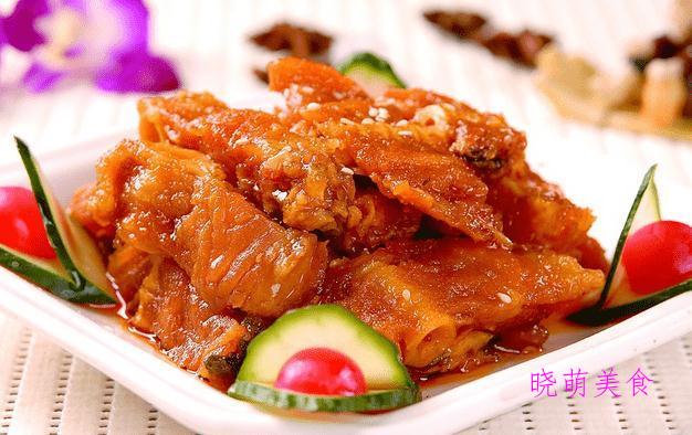 虾仁滑蛋、酱烧小黄鱼、香酥带鱼、松仁小肚的做法,鲜香美味