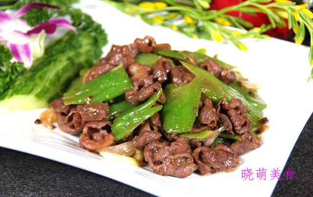 辣炒腰花、青椒炒牛肉、爆炒鱿鱼圈、油爆龙虾的美味做法