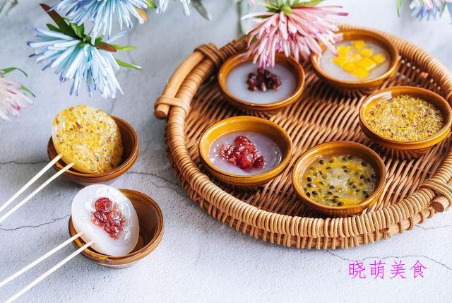 抹茶布丁、钵仔糕、冰糖湘莲、酸奶芝士蛋糕的做法,香甜美味